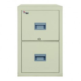 Fireking Patriot 2P1831-C Letter 1 Hour Fire Rated File Cabinet - Parchement