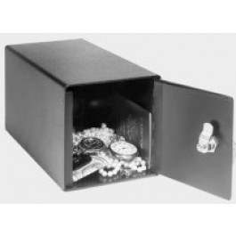 PermaVault PV-27-K In-Room Safe Deposit Box w/ Dual Custody Keys