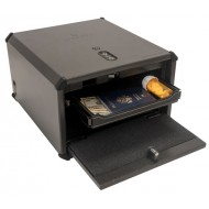 Liberty HDX-350 Very Accurate Biometric Pistol Safe with USB Port USB Open Shelf Out