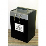 PermaVault Pro-800-M Boltable Drop Box w/ Chute, Slide Top
