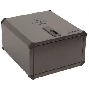 Liberty 9G Inprint INP001-MB 15 Fingerprint Biometric Pistol Safe - Closed